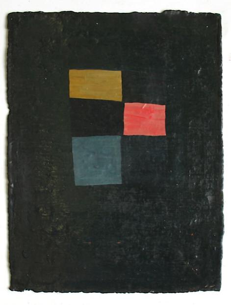 Grid IV, 2008, oil on paper, 12x9