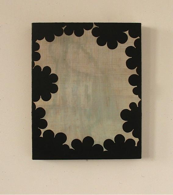 Perimeter I 2008, oil on linen on panel, 20 x 16