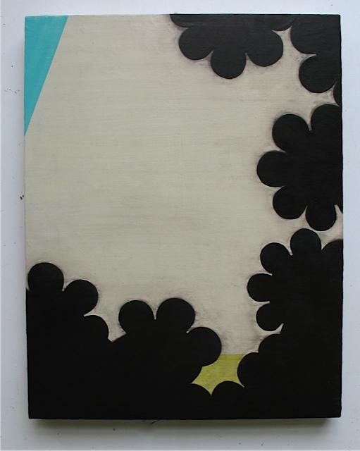 Perimeter IV, 2008, oil on panel, 18 x 14