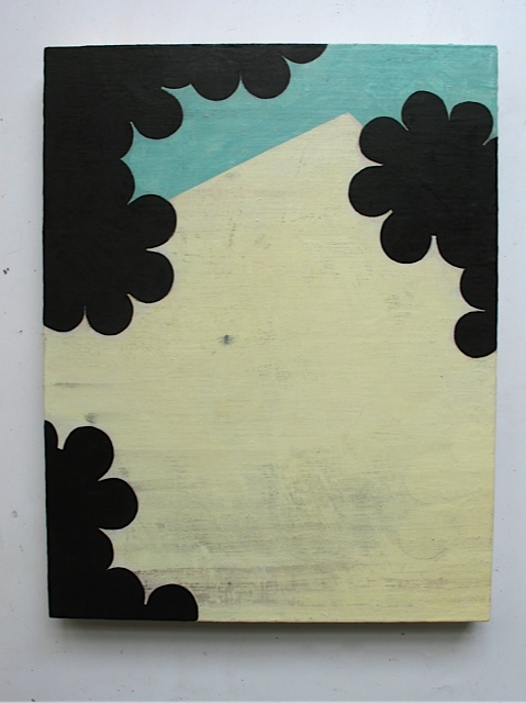 Perimeter V, 2008, oil on panel, 18 x 14