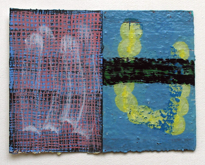 wop2011_15 Blamed for Crawling 2011 oil on paper 6x8